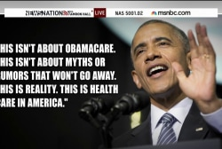 Obama defends healthcare law amid SCOTUS case