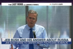 Jeb Bush raises eyebrows with Russia remarks