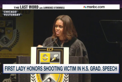 FLOTUS tells Chicago South Side's 'real...