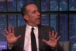 What's the deal w/ Jerry Seinfeld?