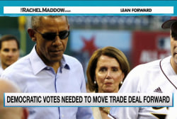 Obama turns to Democrats after trade setback