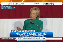 Clinton sides with House Democrats on trade