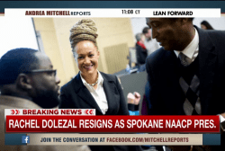 Rachel Dolezal resigns as NAACP leader
