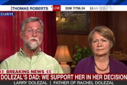 Dolezal's parents react to daughter's...