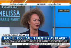 Rachel Dolezal speaks about racial identity