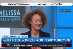 Rachel Dolezal addresses racial identity...