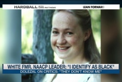 "Fmr. NAACP Leader: ""I identify as black"""