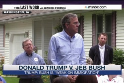 Donald Trump vs. Jeb Bush