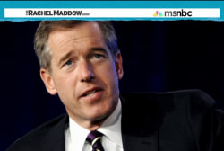 Maddow 'happy' for return of Brian Williams