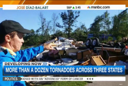 Injuries reported across tornado-struck Ill.