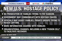No prosecution for families paying ransom