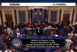 'Fast track' passes Senate