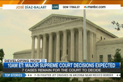 High stakes for seven cases before SCOTUS