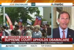 Senator: Health care law decision a 'victory'