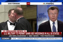 U.S. military to permit same-sex-weddings