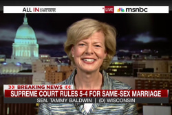 1st openly gay Senator reflects on SCOTUS...