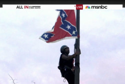 Bree Newsome takes matters into her own hands