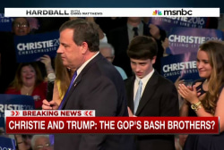 The new GOP Bash Brothers: Christie vs. Trump