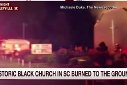 Historic black church in SC burned to ground