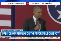 Pres. Obama comments on Affordable Care Act