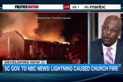 South Carolina church fire investigation