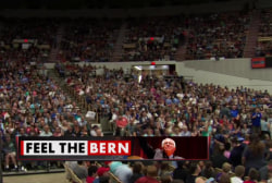 Huge crowd for Bernie Sanders in Wisconsin