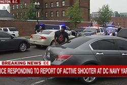 Reports of gunshots heard at DC Navy Yard