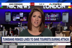 Tunisians risked lives to save tourists...