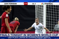 Team USA takes on Japan in Women's World Cup