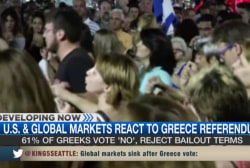 Markets react to Greece referendum