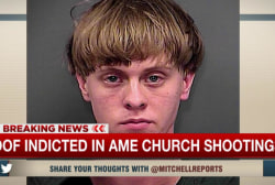 Roof indicted in church shootings