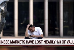 What's behind China's sudden market crash?