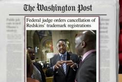 Judge cancels Washington Redskins trademark