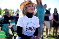 Jane Fonda's new cause? Climate change