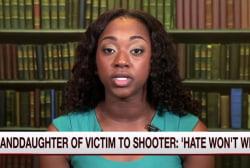 Granddaughter of Charleston victim speaks