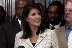 Tragedy turns spotlight on Gov. Nikki Haley