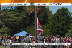 'A defining moment for South Carolinians'