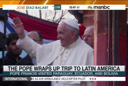 Pope Francis wraps up Latin America trip