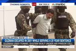 Mex. drug lord 'El Chapo' escapes from prison