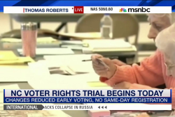 North Carolina voter rights trial to start