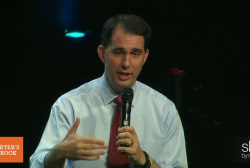 What makes Scott Walker stand out?