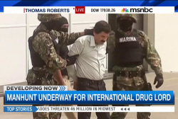 Manhunt underway for international drug lord