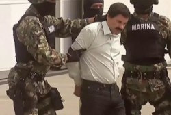 Massive manhunt for Mexican drug kingpin