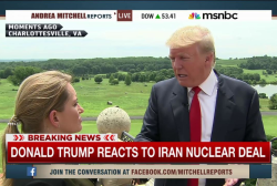 Trump: 'Iranians are going to cheat'