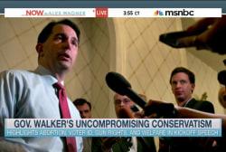 Gov. Walker's uncompromising conservatism