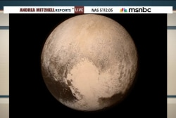 Historic fly-by brings new Pluto images