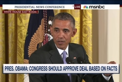 Obama challenges Congress to read nuke deal