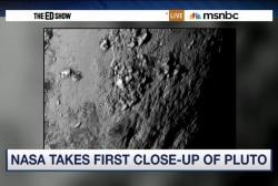 NASA debuts surface image of Pluto