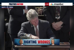 Pres. Clinton: 'we were wrong' on prisons