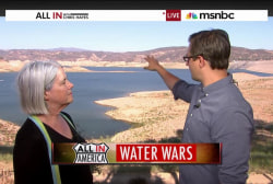 Who decides how to distribute water during...